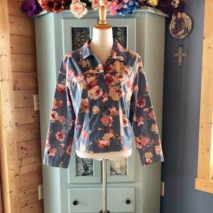 Marsh Landing DENIM style Coat NEW!!!!  Wow!!